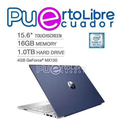 hp core i7 8generacion - 16gb ram 1tb + nvidia 4gb + regalos