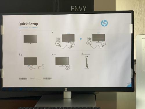 hp desktop envy tela 32 pol i7+8700 28 gb ram 28gb 2tb