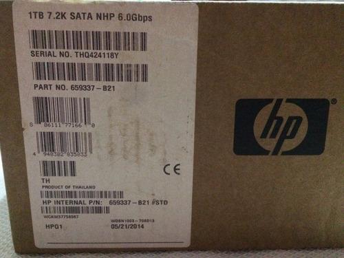 hp disco duro 1tb 3.5 6.0gbs 7.2k  18mb cache nph 659337-b21