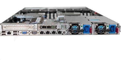 hp dl360 g8 2 processadores octa core 64gb ecc ssd