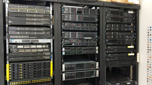 hp dl380 g6 -2 fontes + rede 4 port + 2 proc six core + 16gb