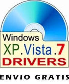 hp dv9000 drivers windows xp o 7 - envio gratis