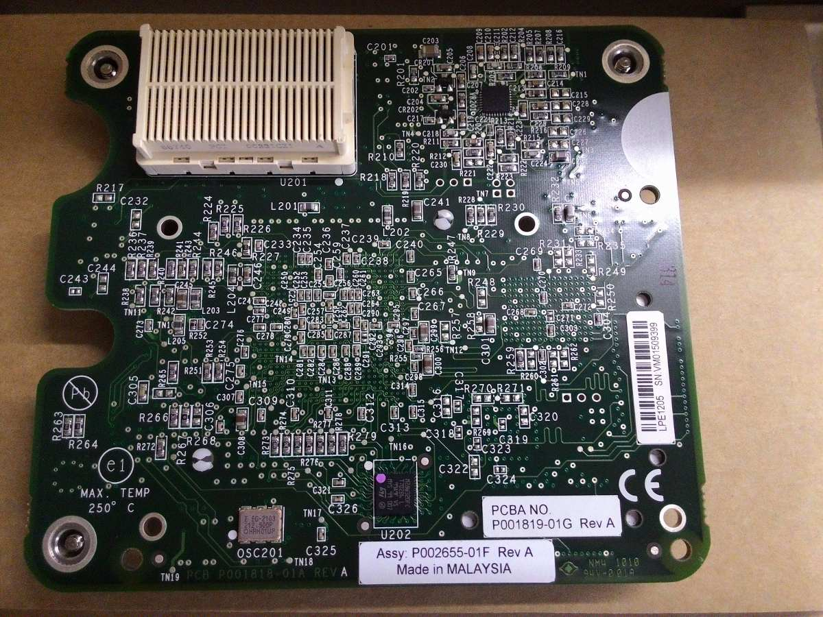 EMULEX LPE1205-HP 8GB FC HBA DESCARGAR DRIVER