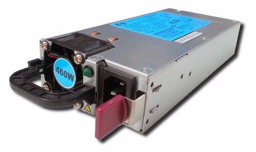 hp fuente de poder 460w hotplug platinium server 656362-b21