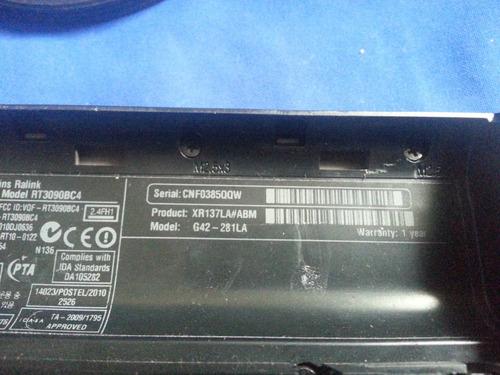 hp g42-181la partes y repuestos