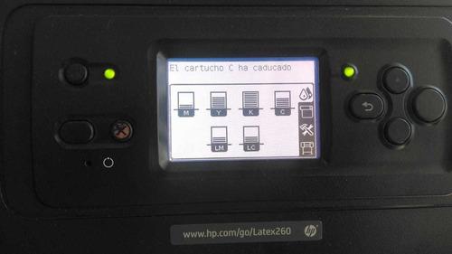 hp l25500 y l26500 látex. mantenimiento y refacciones