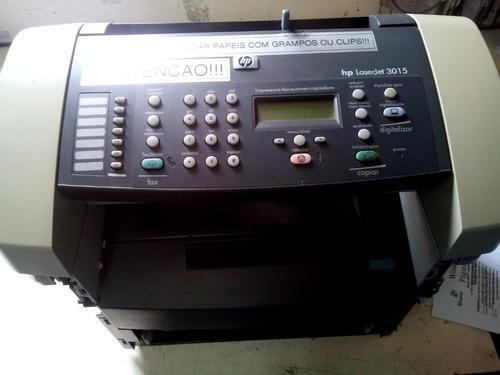 hp laserjet 3015 - partes e peças - maquina desmanchada