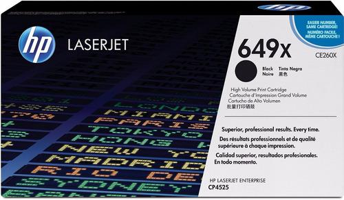 hp laserjet toner cartridge 647x high yield black ce260x new