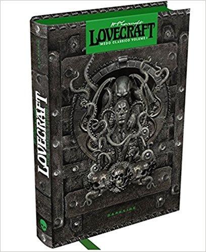 h.p. lovecraft. medo clássico livro
