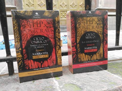 h.p. lovecraft narrativa completa 2 tomos obras completas