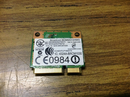 hp mini 110-1020la, placa wifi