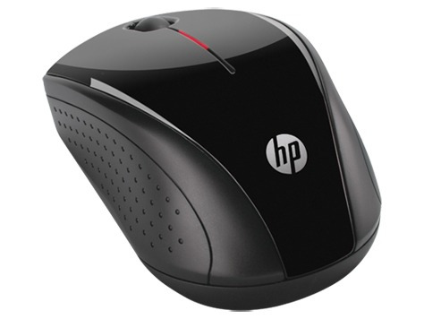 hp mouse inalámbrico x3000 negro h2c22aa