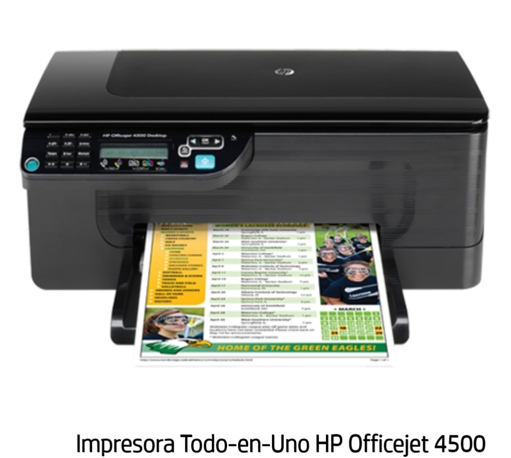 HP OFFICEJET 4500 DESKTOP PRINTER WINDOWS 8 DRIVER