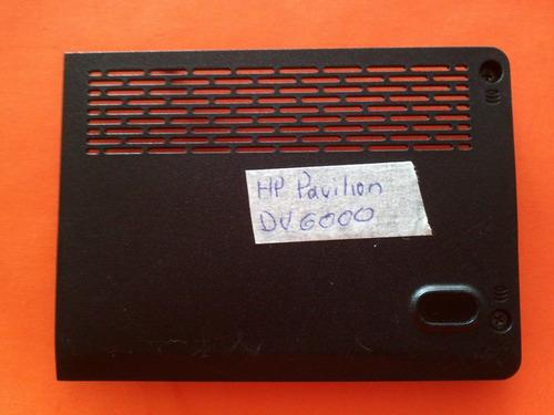 hp pavilion dv6000 tapa/cubierta de disco duro ebat8012014