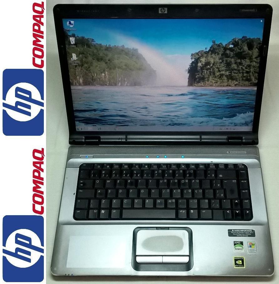 ab2ead4deb36 Hp Pavilion Dv6110br 15.4'' Amd 1.8ghz 2gb Dvd Notebook - R$ 550,00 ...