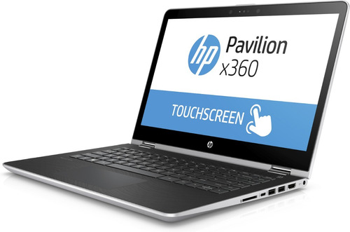 hp pavilion x360 convertible/ i5-7°g/ 4gb/ 500gb/ 14p touch