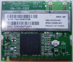 BROADCOM BCM94306MP DRIVER WINDOWS XP