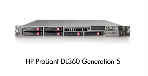 hp proliant  dl360 g5  2 hd 1tb  intel quad 2,33ghz 16gb ram