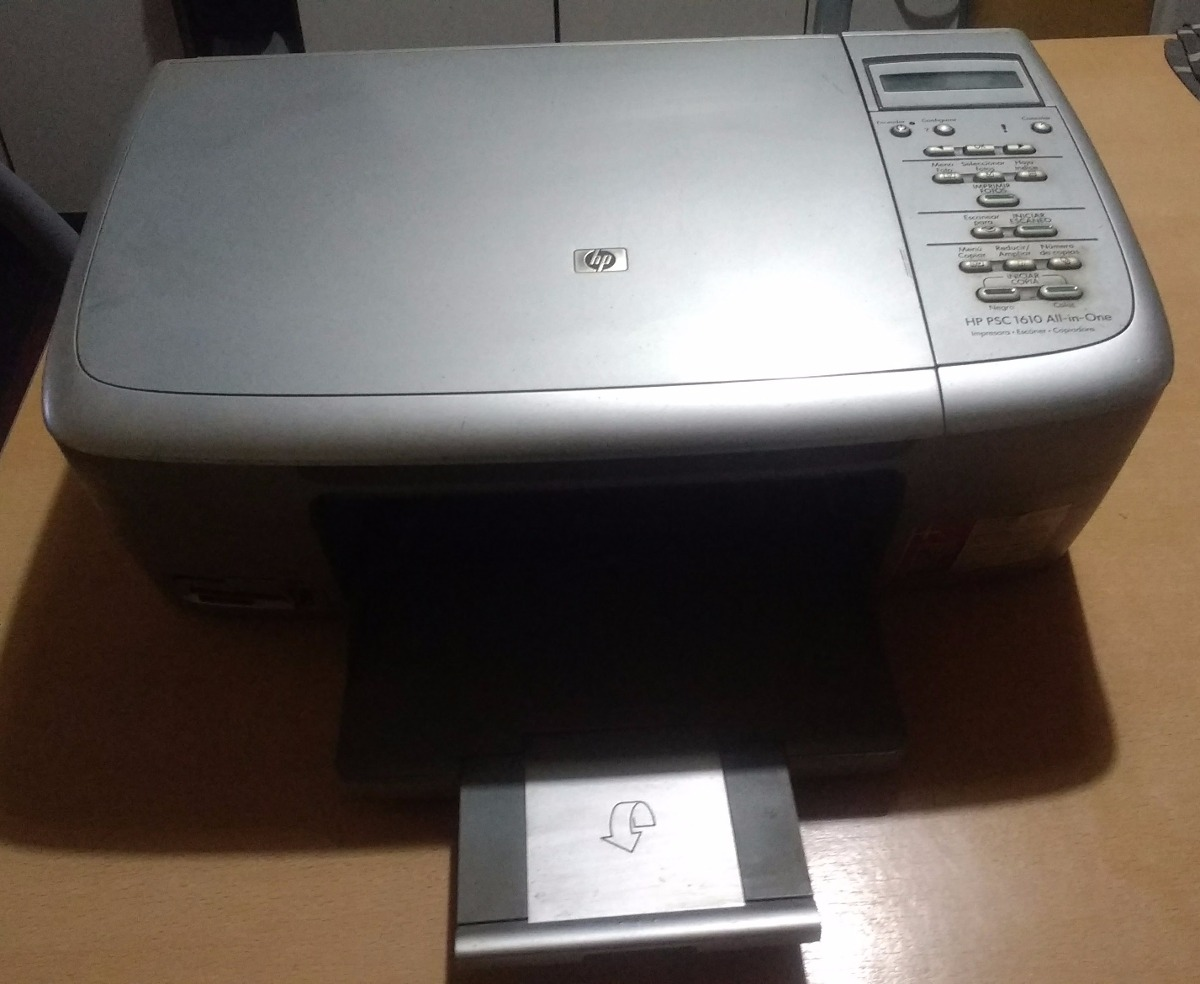 HP PSC 1610 ALL IN ONE WINDOWS 7 X64 DRIVER