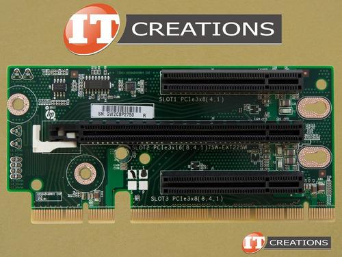 hp riser card pci-e 3.0 x16 dl380e g8 684897-001 647402-001