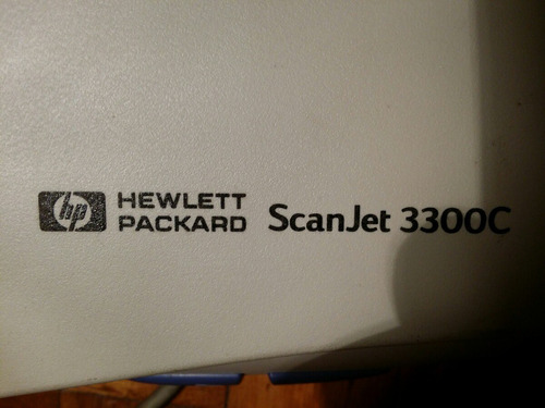 hp scanjet 3300c+manual+cd con paquete de instalación