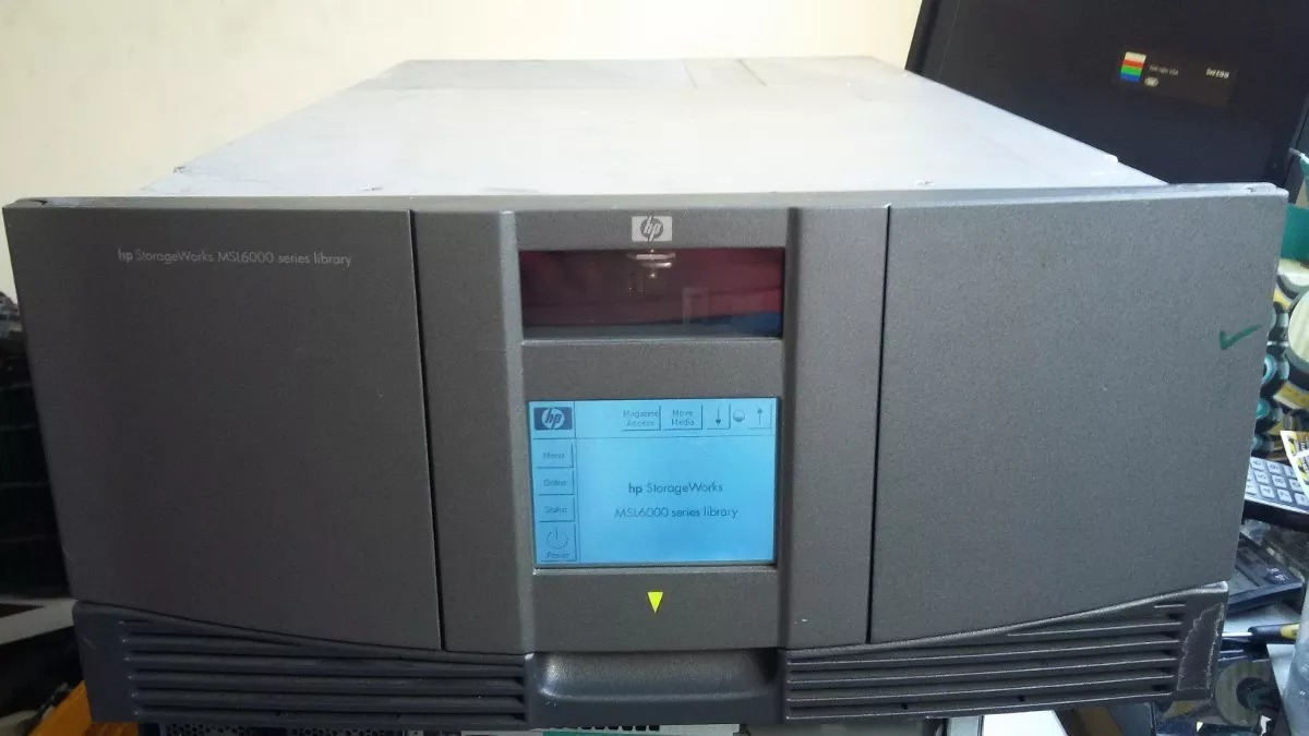 HP STORAGEWORKS MSL6000 64BIT DRIVER DOWNLOAD