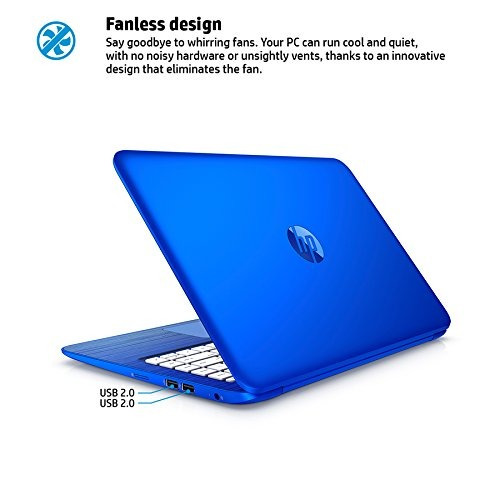 hp stream 13.3-inch laptop (intel celeron, 2 gb de ram, ssd