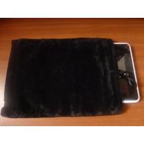Forro Para Tablet De 7 Pulgadas En Terciopelo Negro