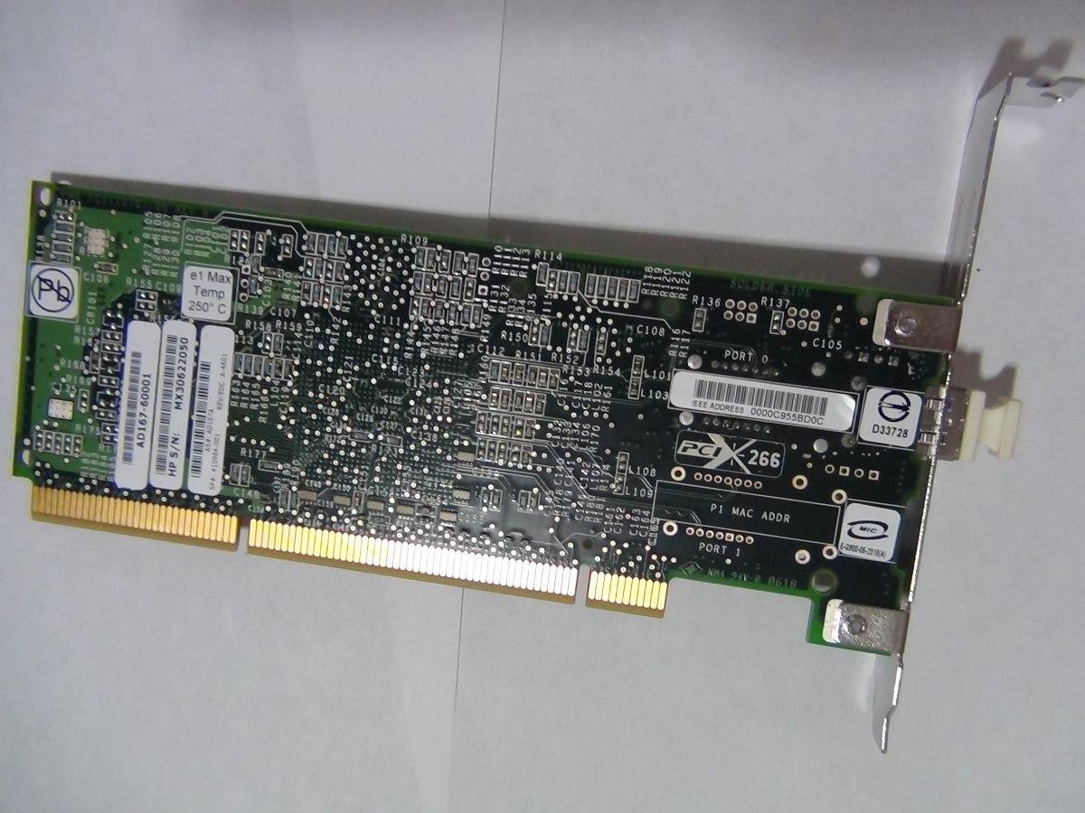 HP AD167-60001 4GB 1-Port Fibre Channel HBA