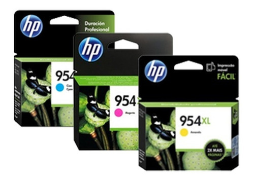 hp tinta 954xl colores l0s62al l0s65al l0s68al iva incluido