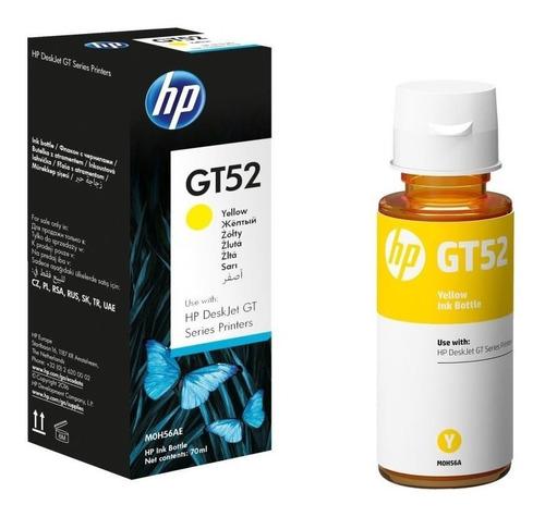 hp® tintas-botella m0h56al amarilla gt52