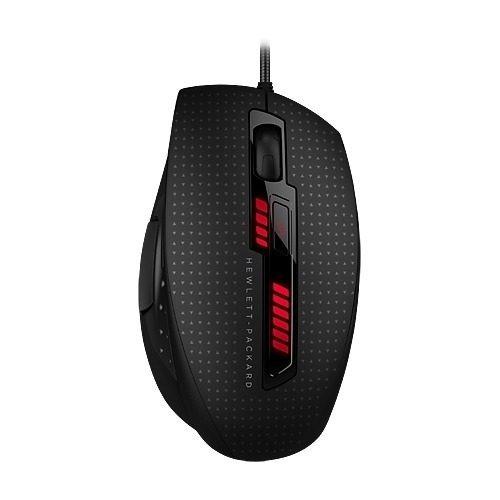 hp x9000 omen usb laser gaming mouse black