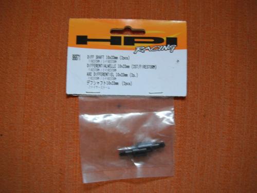 hpi diff shaft 10x23mm (2pcs)