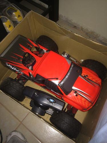 hpi racing savage 25 monster truck