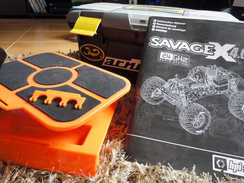 hpi savage 4.6 4x4 - rtr - mega combo