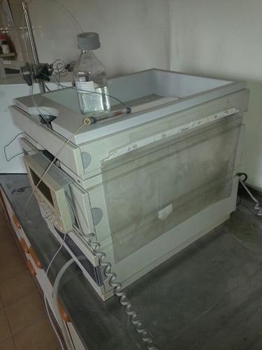 hplc  cromatografo  hewlett packard