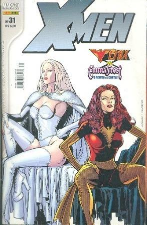 hq 2004 quadrinhos x-men nº 31 fênix vs emma frost