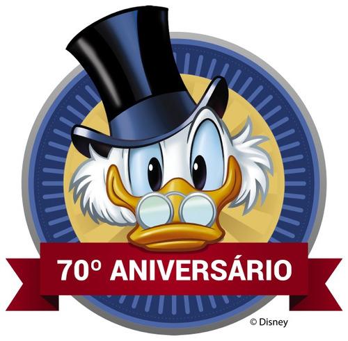 hq 70 anos do tio patinhas + 80 anos do pato donald +  frete