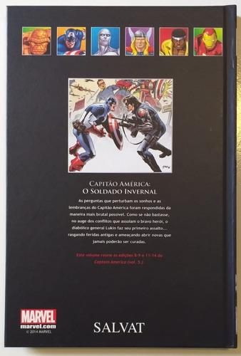 hq a coleçao oficial graphic novels capitão américa vol 45