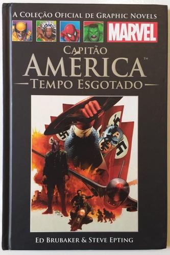 hq a coleção oficial graphic novels capitão américa - vol 44