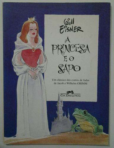hq a princesa e o sapo - will eisner