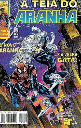 hq - a teia do aranha nº 101 ano 1998
