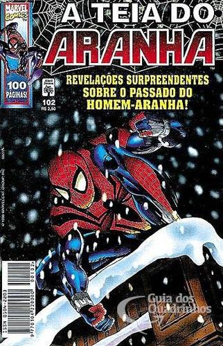 hq - a teia do aranha nº 102 ano 1998
