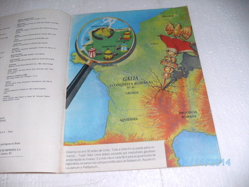 hq aventura de asterix o gavlês 21-presente de césar -record