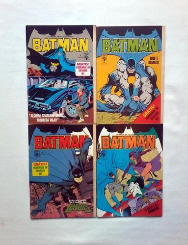 hq batman, 9,10,11,12, 1988, ed abril