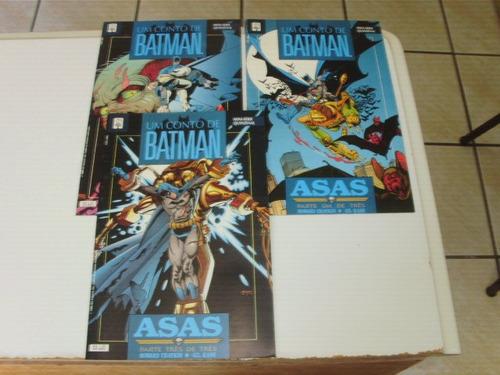 hq batman asas 1 a 3 ms completa  ed abril 1993