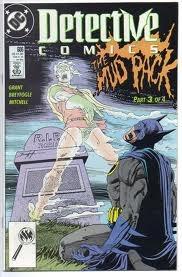 hq - batman detective nº 606 ano 1990