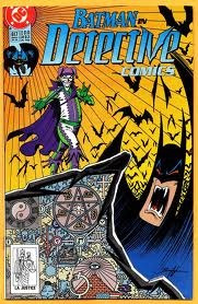 hq - batman detective nº 617 ano 1990