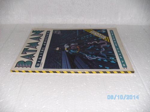 hq batman digital justice graphic album 2 gerado computador
