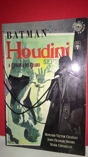 hq batman houdini a oficina do diabo howard victor chaykin !